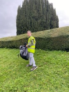 litter picking mar 2021